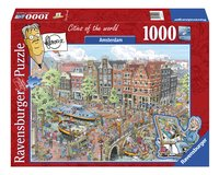 Ravensburger puzzel Fleroux Amsterdam-Vooraanzicht