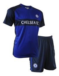 Voetbaloutfit Chelsea FC blauw-Linkerzijde