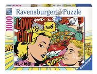 Ravensburger puzzel Pop art-Vooraanzicht