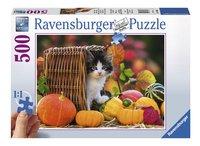 Ravensburger XXL puzzel Katje in de herfst