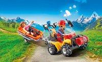 Playmobil Action 9130 Reddingsquad met draagberrie -Afbeelding 1