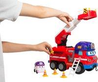 Super Wings Camion de pompiers Rescue Riders et Dizzy-Image 1