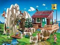 Playmobil Action 9126 Bergbeklimmers met berghut -Afbeelding 1