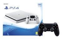 PS4 Slim 500 GB +  extra controller DualShock 4 zwart