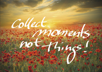 Ravensburger puzzel Collect moments not Things!-Vooraanzicht