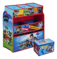 Opbergmeubel PAW Patrol + speelgoedbox PAW Patrol
