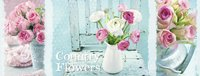 Ravensburger puzzel Triptychon Country Flowers-Vooraanzicht