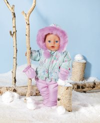 BABY born pop Soft Touch Winter Edition 43 cm-Afbeelding 1