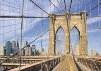 Ravensburger puzzel Op de Brooklyn Bridge-Vooraanzicht