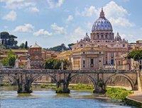 Ravensburger puzzle Le pont Saint-Ange à Rome-Avant