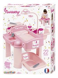 Écoiffier table de soins pour poupées Nursery 22 pièces-Avant