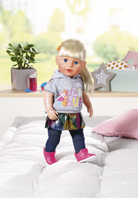 BABY born pop Soft Touch Sister blond-Afbeelding 2