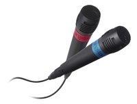 bigben PS4 set van 2 Singstar-microfoons-Vooraanzicht