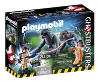 PLAYMOBIL Ghostbusters 9223 Venkman en Terror Dogs-Linkerzijde