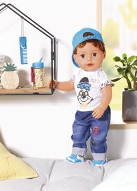 BABY born pop Soft Touch Brother 43 cm-Afbeelding 2
