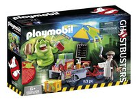 Playmobil Ghostbusters 9222 Bouffe-tout avec stand de hot-dog