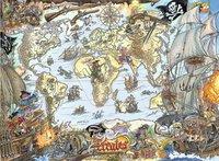 Ravensburger XXL puzzel Piratenkaart-Vooraanzicht