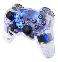 bigben draadloze controller voor PS3 transparant/blauw