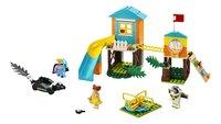 LEGO Toy Story 4 10768 Speeltuinavontuur van Buzz en Bo Peep-Vooraanzicht