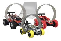 Trixx 360° acrobatische auto's Stuntcars rood/wit - 3 stuks-Artikeldetail