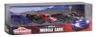 Majorette auto American Muscle Cars - 5 stuks-Linkerzijde