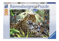Ravensburger Puzzel Jaguar-Vooraanzicht