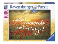 Ravensburger puzzle Collect moments not Things !