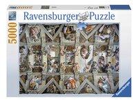 Ravensburger puzzle La chapelle Sixtine