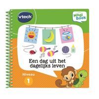 VTech MagiBook blauw + boek 'Een dag uit het dagelijks leven'-Rechterzijde