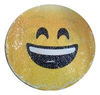 Emoji Kussen pailletten innocent/laughing-Artikeldetail