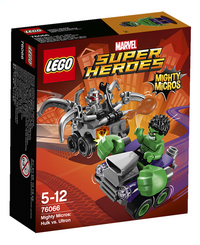 LEGO Super Heroes 76066 Mighty Micros: Hulk vs. Ultron-Vooraanzicht