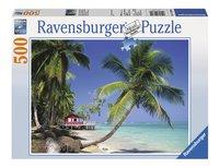 Ravensburger Puzzel Strandhuisje-Vooraanzicht