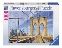Ravensburger puzzel Op de Brooklyn Bridge