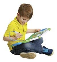 VTech MagiBook blauw + boek 'Een dag uit het dagelijks leven'-Afbeelding 1