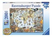 Ravensburger puzzle XXL Carte du monde des pirates