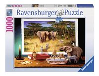 Ravensburger puzzel Nachtelijke bezoekers