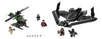 LEGO Super Heroes 76046 Heroes of justice luchtduel-Vooraanzicht
