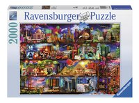 Ravensburger puzzel Wereld van boeken-Vooraanzicht