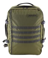 CabinZero reistas Military Green 44 l-Vooraanzicht