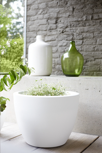 Elho Bloempot Pure Soft round white diameter 50 cm-Afbeelding 2