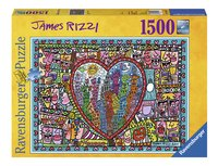 Ravensburger puzzle James Rizzi All that love-Avant