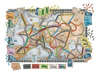 Ticket to ride Europe-Vooraanzicht