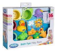 Playgro jouet de bain Bath Fun Play Pack - 15 pièces-Côté gauche