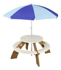AXI table de pique-nique pour enfants Orion avec parasol-Avant