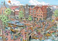 Ravensburger puzzle Fleroux Amsterdam-Avant