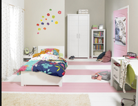 Chambre 3 éléments Marika avec garde-robe 2 portes-Image 1