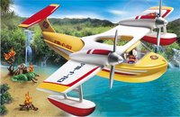 Playmobil Wild Life 5560 Brandblusvliegtuig-Afbeelding 1
