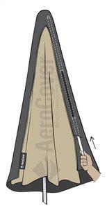 AeroCover Beschermhoes voor parasol 215 x 30/40 cm polyester-Artikeldetail