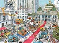 Ravensburger puzzel Fleroux Rio de Janeiro-Vooraanzicht