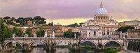 Ravensburger panoramapuzzel Rome-Vooraanzicht